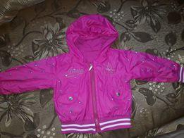 Куртка ветровка на принцессу 2 в 1! Турция!