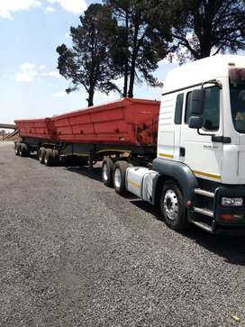 Lease out of 34 ton trucks,