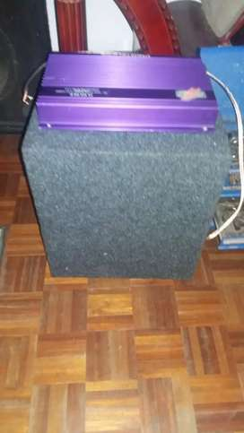 Sub with amplifier for r1500