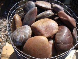 Otoczak Polerowany Brązowy, Kamień Dekoracyjny do Ogrodu i nie tylko
