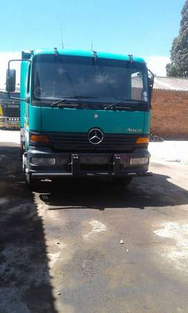 2001 Mercedes Benz Atego 6 CubeC Tipper - For Sale