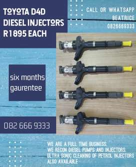 Toyota did diesel injectors for sale