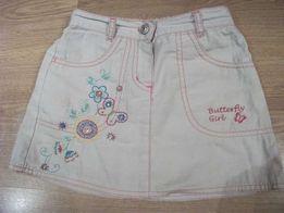 Śliczna spódniczka BUTTERFLY- Rozm.110 cm, 4-5 lat
