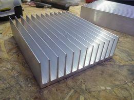 Радиатор алюминиевый (профиль) 122*38*145