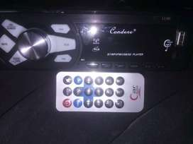 Condere Bluetooth aux and usb front loader