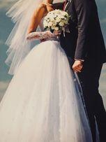 Очень красивое свадебное платье!