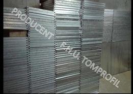 Półka regałowa metalowa wzmocniona 1000x500 ocynk - 36 zł / szt. netto