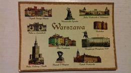 Widokówki Warszawy 27szt. każda inna