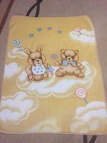 Детское покрывало одеяло