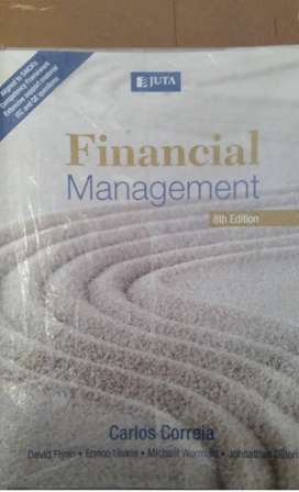 Management Accounting 278 Financial Management Textbook for sale