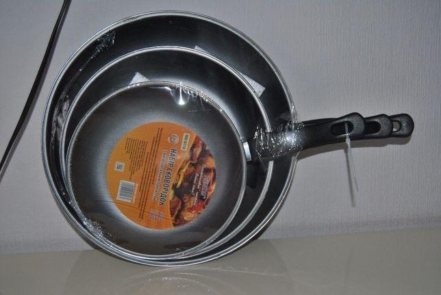 Набор Сковорода 3 шт Stenson , сковородка , сковорідка 20,26,30 см Харьков - изображение 4