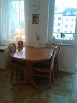 Stół i krzesła drewniane lite drewno bukowy