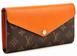 Louis Vuitton Marie Lou citrus leather Wallet