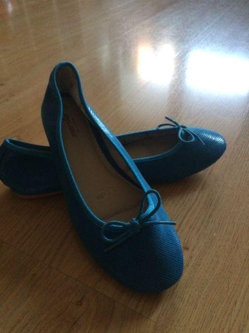 baleriny MARCHA modré, vel.40 0