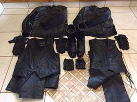 His Hers Quality Motorcycle Riding Kit