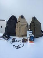 Чоловічі однолямочні рюкзак-сумка