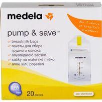Пакеты для сбора, хранения и заморозки грудного молока Medela
