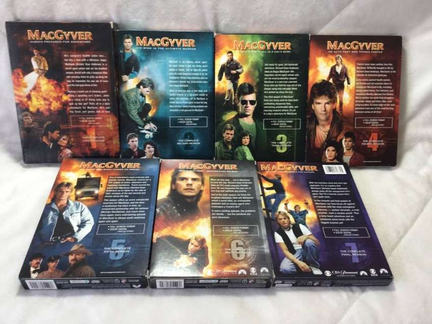 Macgyver complete dvd set for sale 0