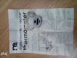 Termometr-smoczek firmy MOTHERCARE, NOWY