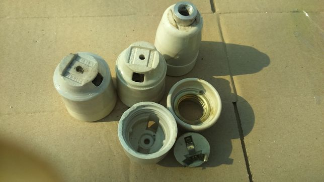 Электропатроны керамика,СССР-70годов, для проводки в стиле Loft Киев - изображение 5