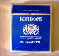 пустая коробка из под Rotmans 40 летней давности