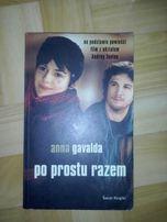"""książka """"Po prostu razem""""Anna Gavalda"""