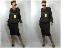 Świetna ciepła włoska spódnica wełna w odcieniu brązu L/XL Promocja!