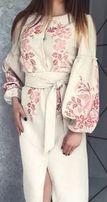 Вишиванка БОХО в ЭТНО стиле.Платье,вышиванка бисер, сукня ЗАГОТОВКА