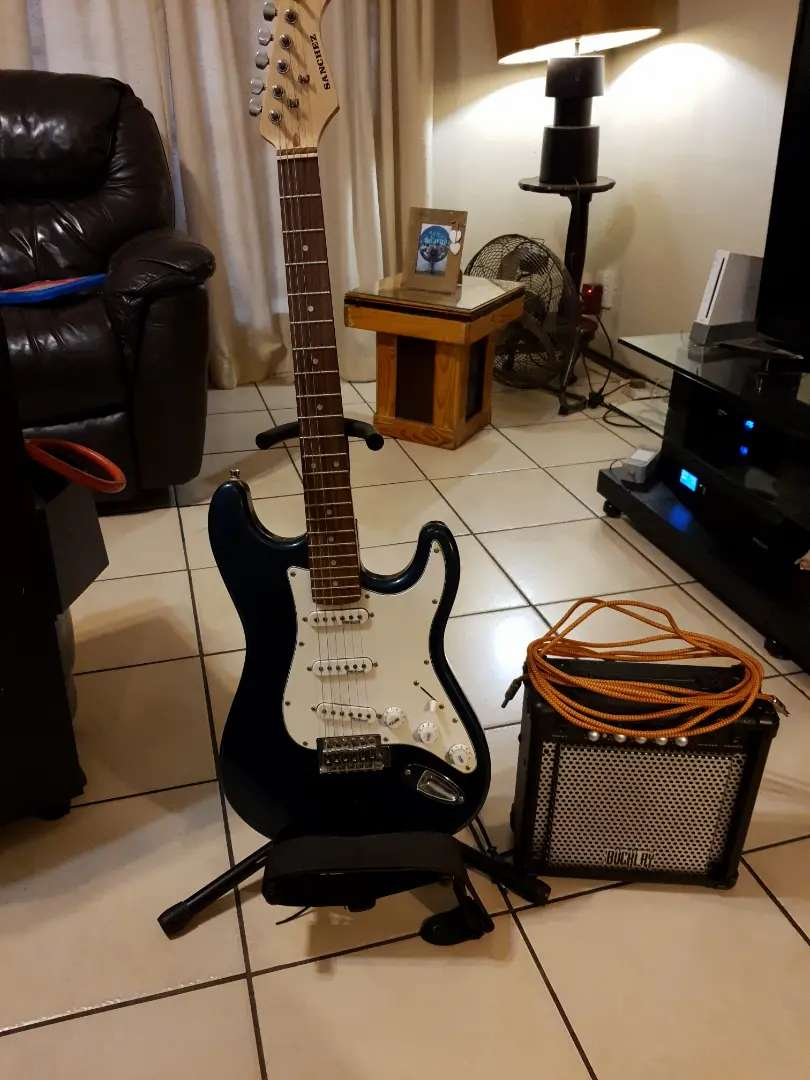 brand new electric guitar 0