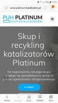 Skup i recykling katalizatorów Platinum