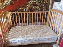 Детская кроватка Pali Италия с ортопедическим матрасом