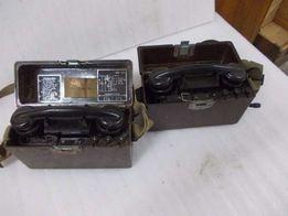 Stary telefon wojskowy 3 szt