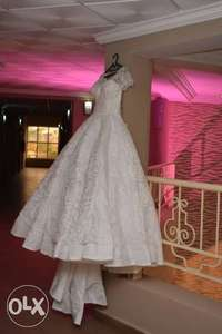 Princess wedding structured gown. 0