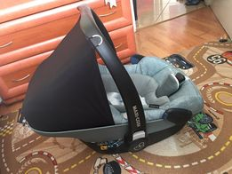 Maxi-Cosi, Pebble+, fotelik samochodowy, 0-13 kg, Nomad green