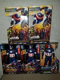 Супергерой,Марвел/Marvel, Avengers/, Капитан Америка,свет, звук, 30см.