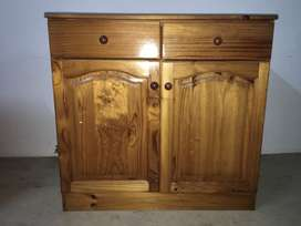Pine Cabinet and Work cabinet