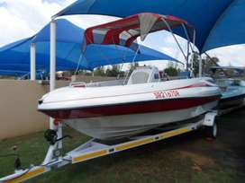 Breeze Offshore 20cc with 150hp Mariner outboard motor