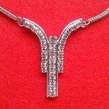 Модное украшение: цепочка с кулоном 41 см Бижутерия