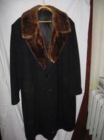 Пальто мужское драповое на ватине теплое