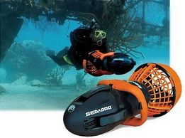 подводный скутер, буксировщик SEA-DOO Seascooter EXPLORER ZS7A