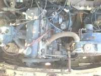 Image of Audi 80 engine and gearbox