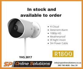 YI BULLET OUTDOOR CAMERA