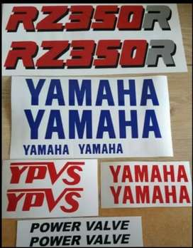 RZ 350 stickers decals graphics kits