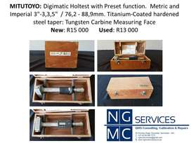 MITUTOYO: Digimatic Holtest with Preset function