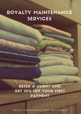Royalty Maintenance Services
