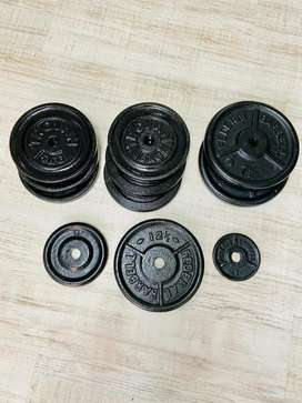 Gym weights plates R25