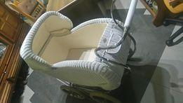 Okazja Stary antyk odrestaurowany wózek wiklinowy dla dziecka