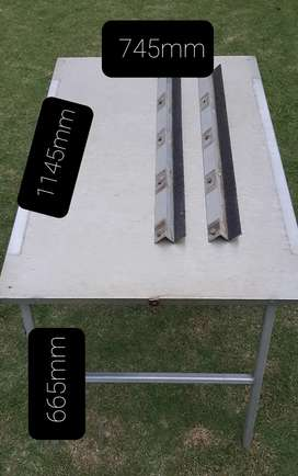 Frontrunner Stainless Steel Table (incl under Roofrack mountings)