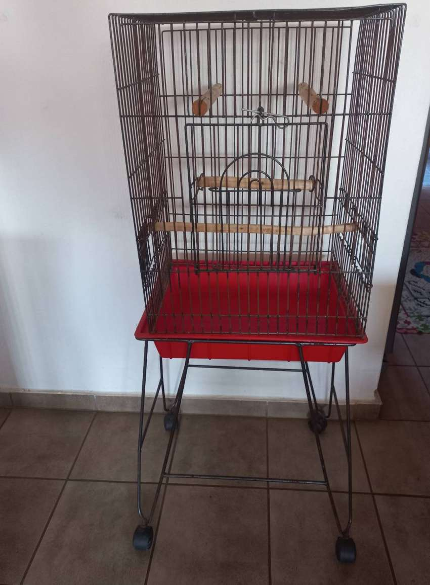 Imported Heavy Duty Parrot Cage + Trolley