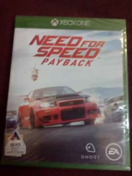 Xbox need for speed pay back  only 3 days special